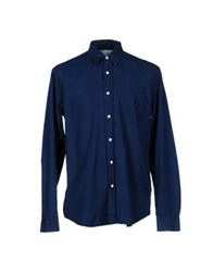 Our Legacy Denim Shirts Blue