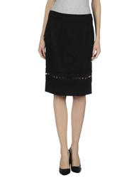 Mariella Rosati Skirts Knee Length Skirts Women Black