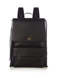 Gucci Tiger Head Embossed Backpack Black