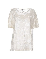 High Shirts Blouses Women Ivory