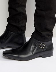 Kg By Kurt Geiger Grays Chelsea Boots With Buckle Black