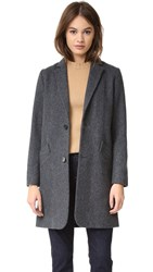 A.P.C. Tailleur Coat Anthracite Chine