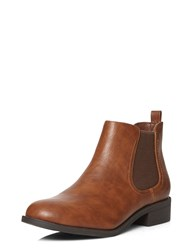 Dorothy Perkins May Chelsea Boots Brown