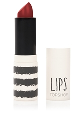 Topshop Lips In Temptation Dark Red