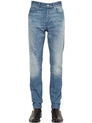 Givenchy 17Cm Destroyed Cotton Denim Jeans