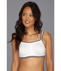 Natori Yogi Convertible Underwire Sports Bra 731050 White Grey Women's Bra