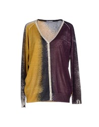 Stefano Mortari Knitwear Cardigans Women Purple