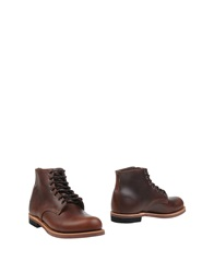 Thorogood Ankle Boots Dark Brown