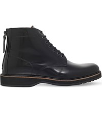 Kg By Kurt Geiger Moore Leather Boots Black