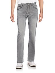Buffalo David Bitton Fred X Easy Straight Leg Jeans Handsanded