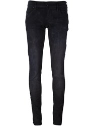 Diesel 'Grupee' Slim Fit Jeans Black