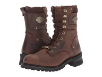 Harley Davidson Elson Brown Men's Lace Up Boots
