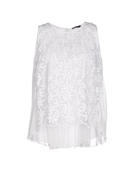 Hanita Topwear Tops Women White