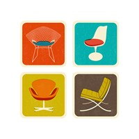 Magpie The Modern Home Coaster Set Of 4