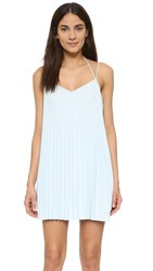 Club Monaco Plumina Dress Morning Sky