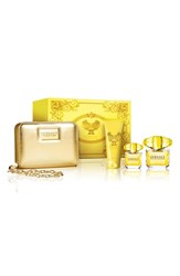 Versace 'Yellow Diamond' Wristlet Set Limited Edition 189 Value
