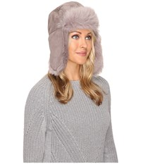 Ugg Toscana Long Pile Trapper Stormy Grey Multi Cold Weather Hats Gray