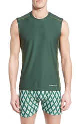 Men's Exofficio 'Give N Go Sport' Mesh Sleeveless T Shirt Petrol