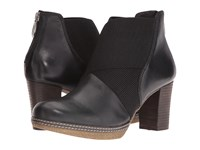 Gabor 52.872 Black Foulard Calf Women's Pull On Boots