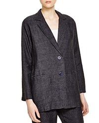 Eileen Fisher Oversize Blazer Denim