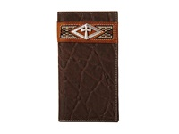 Ariat Diamond Cross Concho Rodeo Wallet Brown Wallet Handbags