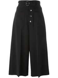 Red Valentino High Waisted Culottes Black
