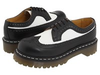 Dr. Martens 3989 Black White Smooth Lace Up Casual Shoes