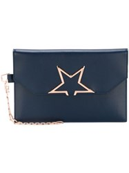 Golden Goose Deluxe Brand 'Vedette Star' Clutch Blue