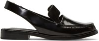 Opening Ceremony Black Patent Betty Loafers