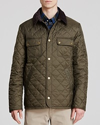 Barbour Tinford Quilted Jacket Olive