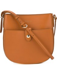 Nina Ricci Small Saddle Bag Brown