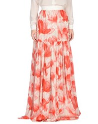 Marc By Marc Jacobs Skirts Long Skirts Women Coral