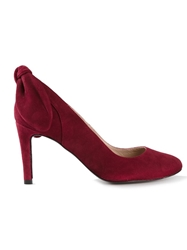 Carven Bow Detail Pumps Red