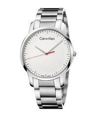 Calvin Klein City Stainless Steel Bracelet Watch K2g2g1z6 Silver