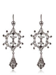 Arabel Lebrusan Silky Filigree Chandelier Earrings