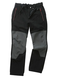 Tog 24 Venture Mens Tcz Softshell Trousers Black