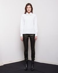 Maison Martin Margiela Line 4 Leather Legging Black
