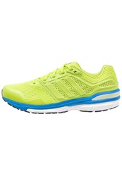 Adidas Performance Supernova Sequence Boost 8 Stabilty Running Shoes Semi Solar Slime Shock Blue Neon Yellow