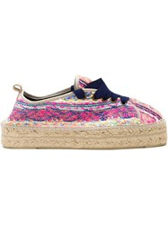 Manebi Manebi Lace Up Espadrilles Multicolour