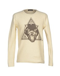 Phonz Says Black Topwear Sweatshirts Men Ivory