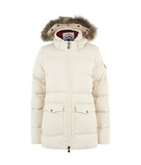 Pyrenex Authentic Smooth Puffer Jacket Cream