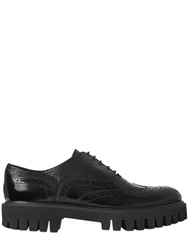 Alberto Guardiani 40Mm Leather Oxford Lace Up Shoes