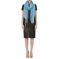 Barneys New York Women's Marmorizzato Scarf Blue