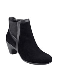 Easy Spirit Carilynn Suede Ankle Boots Black