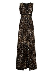 Supertrash Daisy Maxi Dress Gold Phoenix