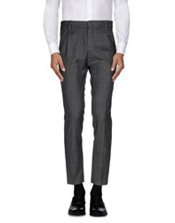 Frankie Morello Trousers Casual Trousers Men Grey