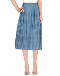 Bsbee Skirts 3 4 Length Skirts Women Sky Blue