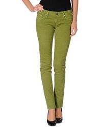 Citizens Of Humanity Denim Pants Acid Green