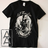 Let Them Live Vegan Animal Rights Shirt Punk By Manydeadthings