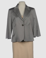 Diana Gallesi Blazers Grey